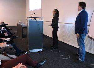 tekom-Jahrestagung: Fabienne Schumann präsentierte zusammen mit Ulrich Beez (Hochschule Darmstadt) Ergebnisse des Verbundprojektes ProDok 4.0