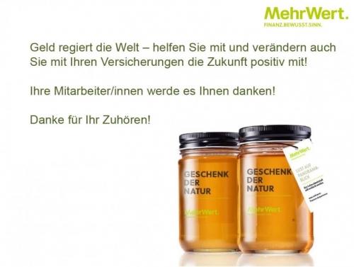 ©Quelle: MehrWert GmbHNachhaltige Versicherungslösungen im betrieblichen Umfeld4. Praxistag des CSR